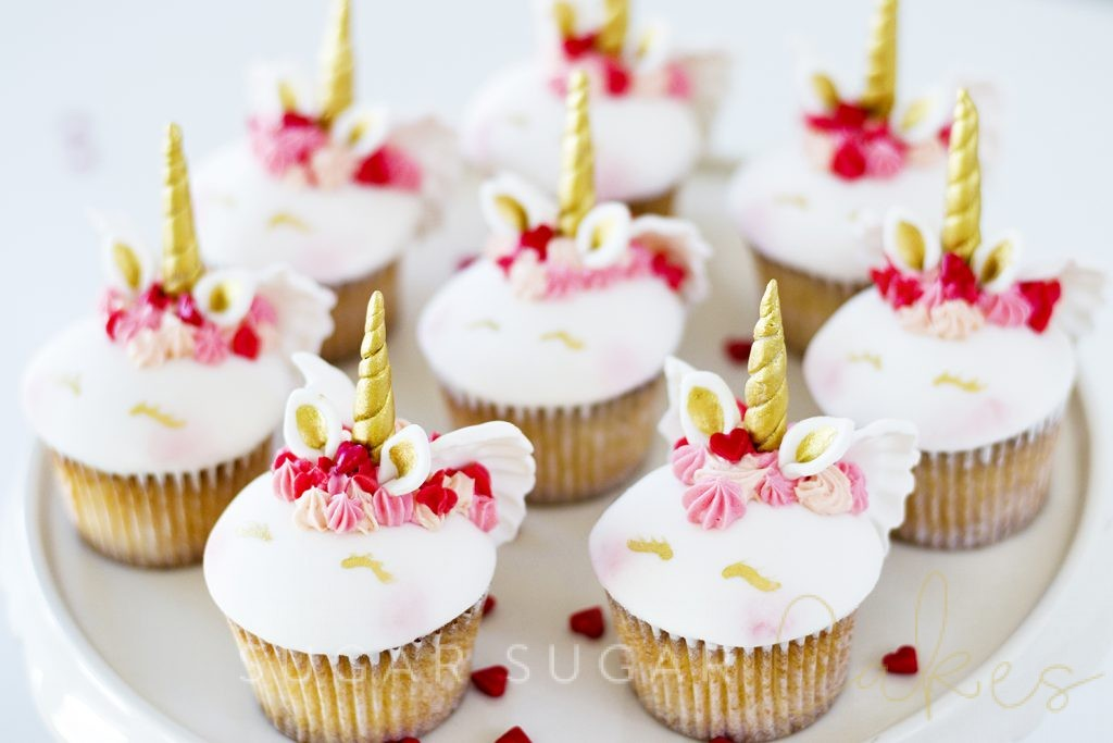 Unicorn Cupid Cupcakes