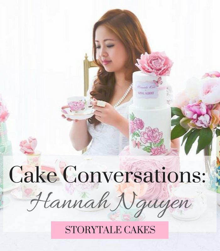 Cake Conversations with 'Storytale Cakes'